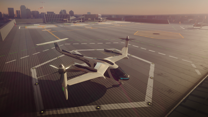 Uber dự định sẽ tiếp tục tìm kiếm các cơ hội hợp tác với NASA trong tương lai, mở ra một thị trường mới trong ngành vận tải hàng không đô thị. Ảnh: Uber