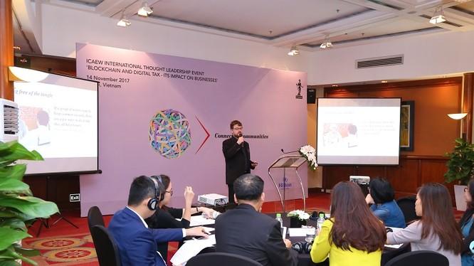 Sự kiện nằm trong chuỗi Hoạt động chuyên môn thường kỳ của ICAEW tại Khu vực Đông Nam Á. Ảnh: Lâm Đàm