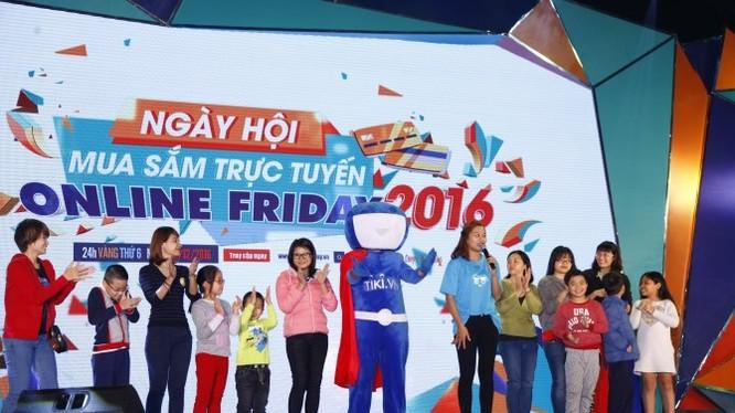 Online Friday 2016 đã thu hút hàng vạn người tham gia. Ảnh: BTC.