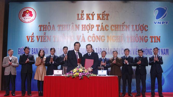 VNPT sẽ hợp tác với tỉnh Tuyên Quang trong phát triển nguồn nhân lực VT-CNTT. Ảnh: Quỳnh Thúy.