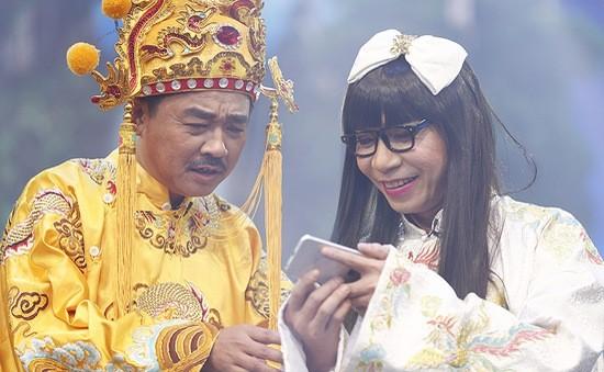Quốc Khánh lần đầu thể hiện giọng hát tại Táo Quân.