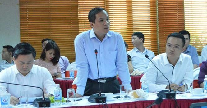 Ông Đoàn Thái Sơn tại một cuộc họp gần đây. Ảnh: NHNN
