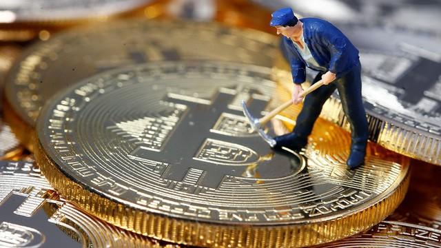 Đồng tiền ảo Bitcoin. Ảnh minh họa: AP