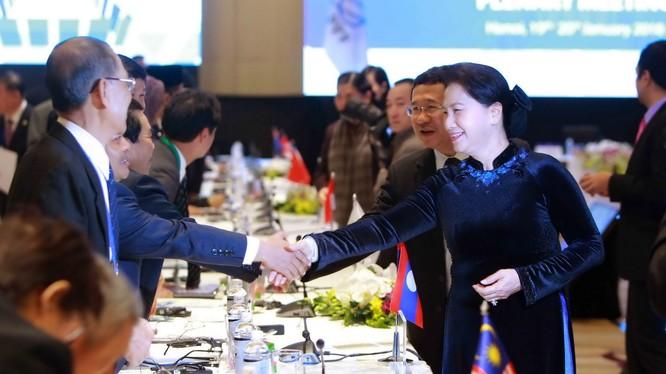Đây là lần thứ 2 Quốc hội Việt Nam đăng cai tổ chức Hội nghị thường niên APPF. Ảnh: VNPT