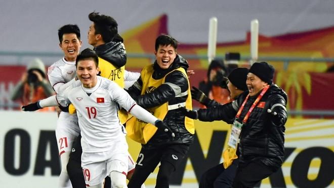 """U23 Việt Nam - """"chú ngựa ô"""" của VCK U23 châu Á- gặp đối thủ Tây Á U23 Qatar trong trận bán kết và đã giành chiến thắng trong trận chiến nghẹt thở."""