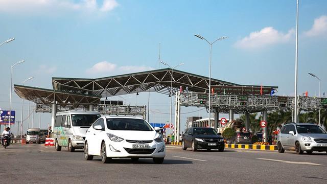 Trạm thu phí dự án BOT Quốc lộ 1 đoạn Hà Nội - Bắc Giang. Ảnh: Tổng cục Đường bộ.