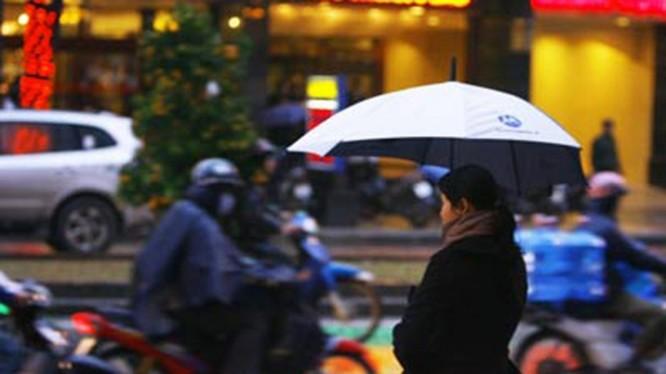 Mưa rét là kiểu thời tiết phổ biến trong tuần này. Ảnh: TTKTTVTƯ