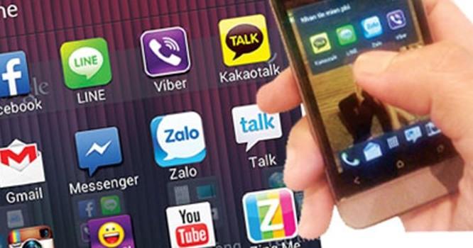 Người dùng Việt hiện đang có nhiều lựa chọn các ứng dụng OTT để trao đổi thông tin.