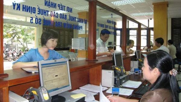 Quý I/2018, Cục thuế Hà Nội cũng đã đăng công khai 284 đơn vị nợ số tiền hơn 350 tỷ đồng. Ảnh: Cục thuế TP. Hà Nội.