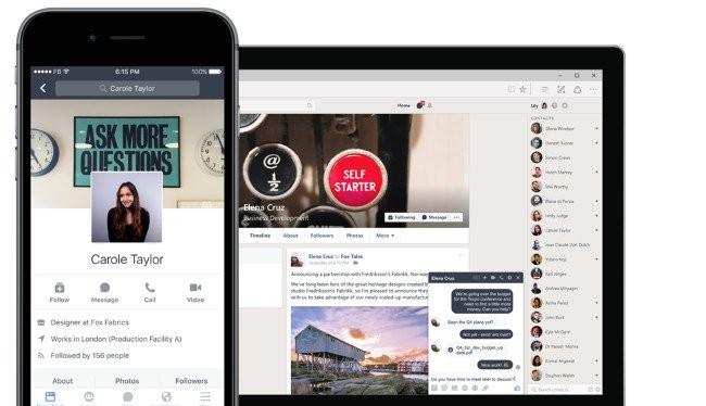 Workplace vốn là một công cụ online để cộng tác làm việc nhóm, với các tính năng của Facebook.