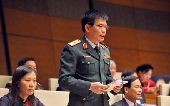 ĐBQH, Thiếu Tướng Phan Văn Tường.