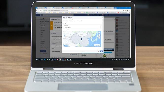 Bản đồ trong Trình quản lý quảng cáo của Facebook đã được sửa.
