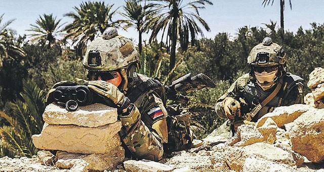 Lính đặc nhiệm Nga tham chiến tại Syria