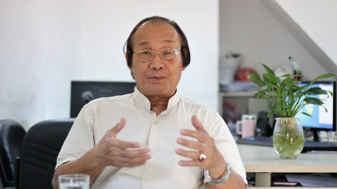 Tiến sỹ Trần Công Trục - nguyên Trưởng ban Biên giới Chính phủ