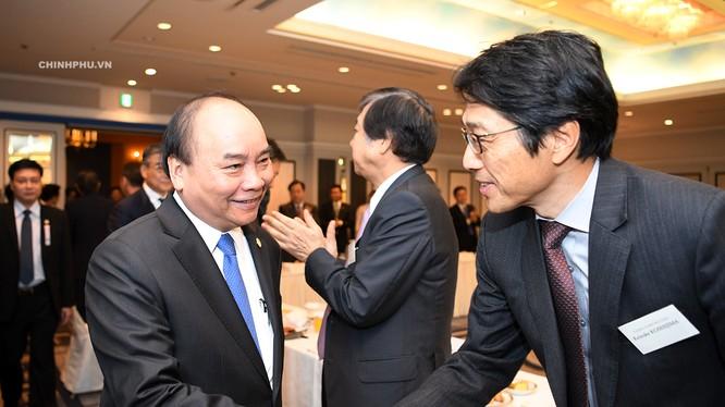 Thủ tướng gặp gỡ các DN Công nghệ Nhật Bản bên lề Hội nghị Cấp cao Mekong - Nhật Bản lần thứ 10.