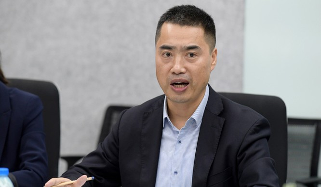 Ông Fan Jun, CEO Huawei Việt Nam.