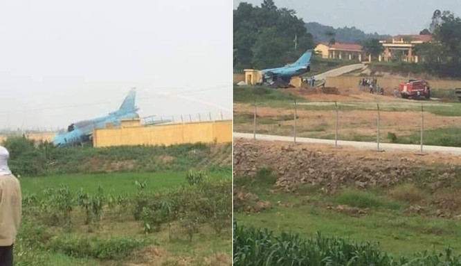 Người lái chiếc máy bay Su 22 của Trung đoàn không quân 921 là Trung tá Phan Thanh Hải.