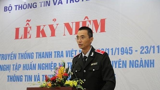Chánh Thanh tra Bộ TT&TT Đặng Anh Tuấn. Ảnh Mic.gov.vn