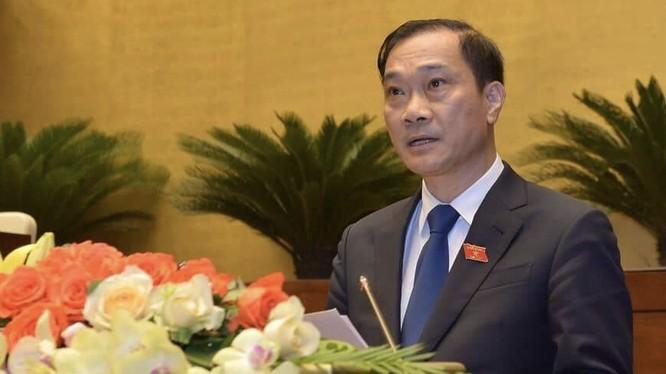 Chủ nhiệm Ủy ban Kinh tế của Quốc hội Vũ Hồng Thanh.