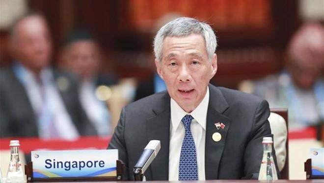 Thủ tướng Singapore Lý Hiển Long. Ảnh: Tân Hoa Xã.
