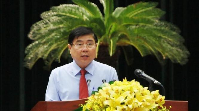 Ông Nguyễn Thành Phong, Chủ tịch UBND TP Hồ Chí Minh
