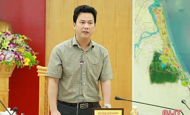 Ông Đặng Quốc Khánh được phân công nhiệm vụ Bí thư Tỉnh ủy tỉnh Hà Giang.