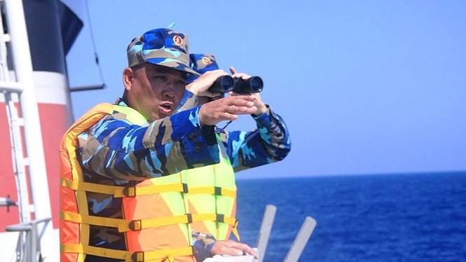 Một lần triển khai nhiệm vụ của lực lượng cảnh sát biển.