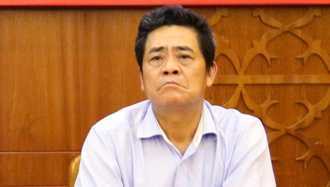 Ông Lê Thanh Quang - Bí thư Tỉnh ủy Khánh Hòa.