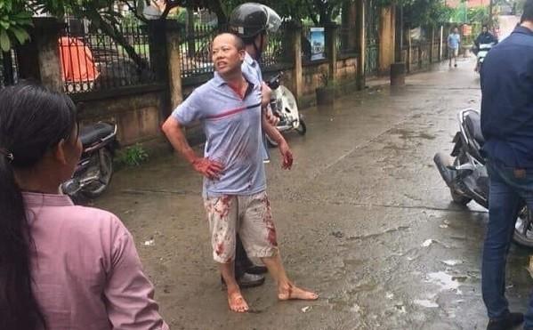 Đối tượng Nguyễn Văn Đông bị lực lượng chức năng bắt giữ.