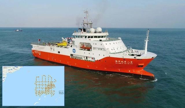 Việt Nam kiên quyết phản đối việc nhóm tàu khảo sát địa chất Hải Dương 8 của Trung Quốc tiếp tục hành động vi phạm nghiêm trọng quyền chủ quyền, quyền tài phán của Việt Nam.