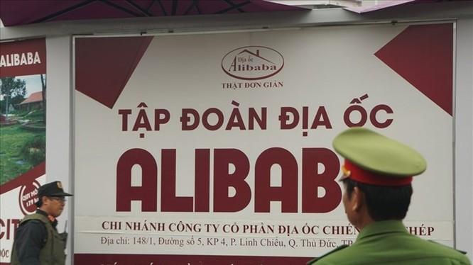 """Lãnh đạo 20 công ty con của Địa ốc Alibaba từng tham gia thu mua đất nông nghiệp, quảng cáo bán dự án """"ma""""... bị cảnh sát triệu tập."""