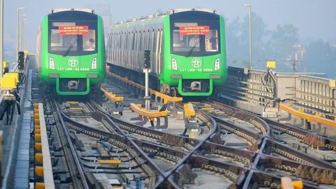 Dự án đường sắt Cát Linh - Hà Đông đã trễ hẹn nhiều lần vẫn chưa thể vận hành