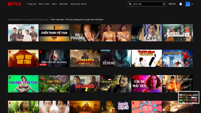Netflix ra mắt giao diện tiếng Việt với kho gắn phụ đề và lồng tiếng bản ngữ.