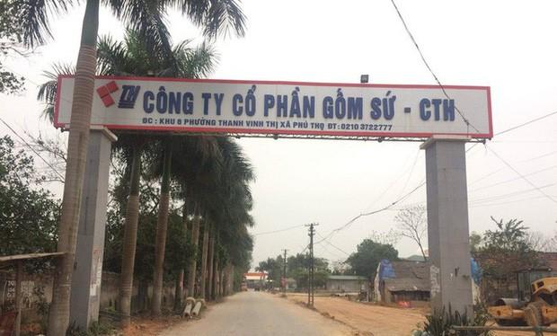 Công ty gốm sứ Thanh Hà (Phú Thọ).