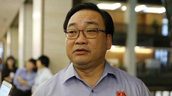 Bí thư Thành ủy Hà Nội Hoàng Trung Hải.