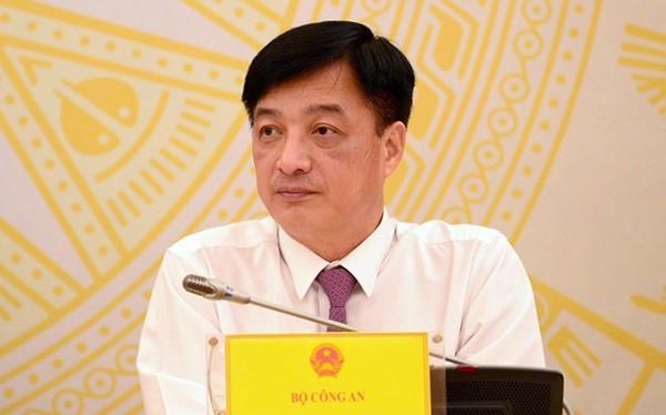 Thứ trưởng Bộ Công an Nguyễn Duy Ngọc.