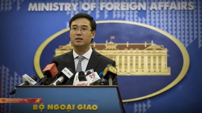 Phó Phát ngôn Bộ Ngoại giao Ngô Toàn Thắng.