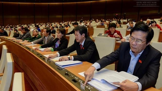 Quốc hội đã biểu quyết thông qua dự án Bộ Luật Lao động sửa đổi tại kỳ họp thứ 8.
