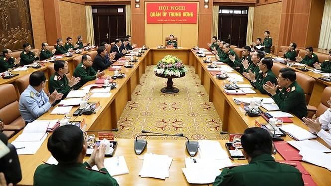 Thường vụ Quân ủy Trung ương tổ chức Hội nghị kiểm điểm năm 2019.