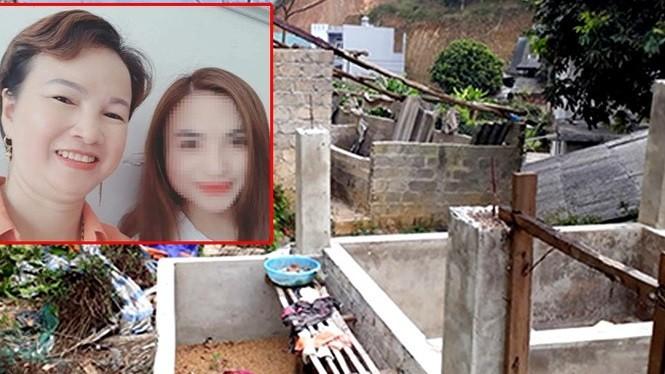 Hai mẹ con nữ sinh giao gà và hiện trường vụ án.