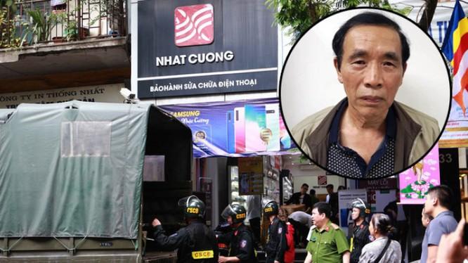 Nguyên Phó Giám đốc Sở Kế hoạch và Đầu tư Hà Nội Nguyễn Tiến Học bị bắt vì có liên quan vụ Nhật Cường.