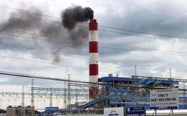 Nhà máy nhiệt điện Vĩnh Tân. Ảnh: VAP.