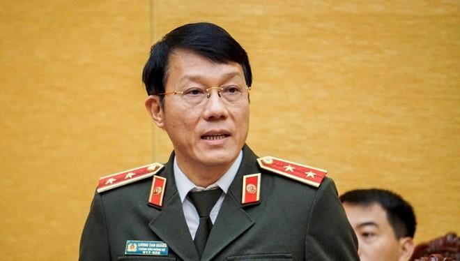 Trung tướng Lương Tam Quang – Thứ trưởng Bộ Công an. Ảnh: Bộ Công an.