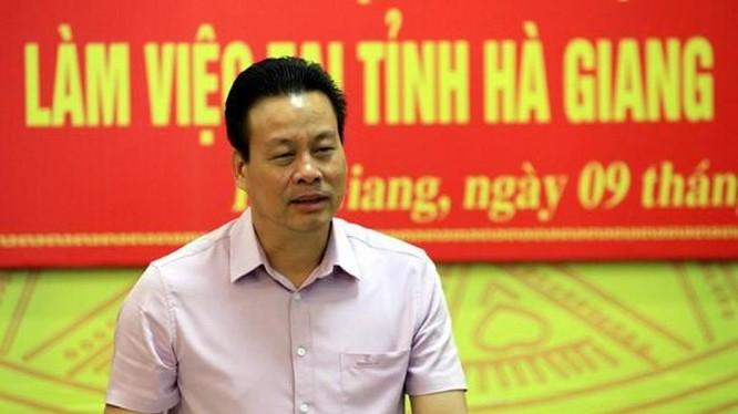 Chủ tịch UBND tỉnh Hà Giang Nguyễn Văn Sơn. Ảnh: hagiang.gov.vn.