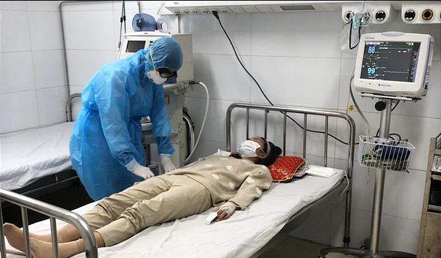 Nữ bệnh nhân N.T.T (25 tuổi, quê Yên Định, Thanh Hóa) đã ổn định sức khỏe và đang chờ kết quả xét nghiệm nCoV. (Ảnh: Báo Thanh Hóa)