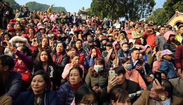 Bộ VHTTDL yêu cầu các địa phương tuyên truyền để người dân đeo khẩu trang khi tham gia lễ hội, tham quan di tích. Ảnh: Bộ VHTTDL