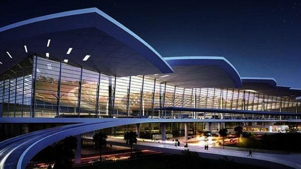 Phối cảnh Cảng hàng không Quốc tế Long Thành. Ảnh: Bộ GTVT.