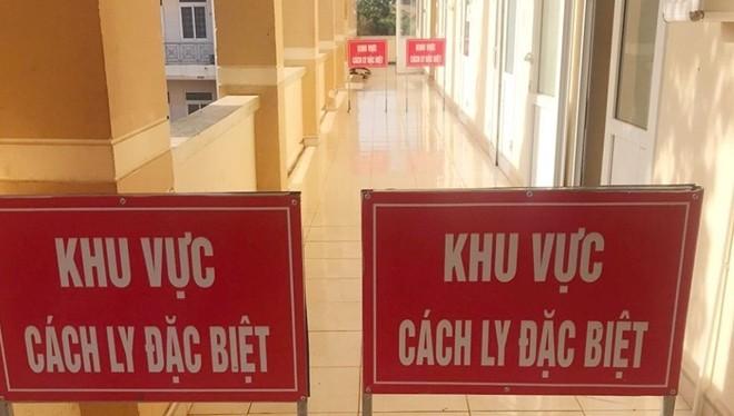 Khu vực cách ly bệnh nhân nam tại Trung tâm Y tế huyện Đắk R'lấp. Ảnh: TTYT Đắk Nông.