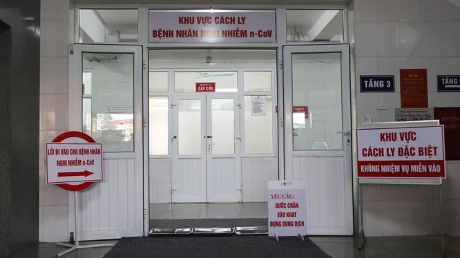 Khu vực cách ly đặc biệt của tỉnh Quảng Ninh. Ảnh: quangninh.gov.vn.