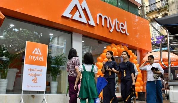 Năm 2019, Mytel trở thành nhà mạng lớn thứ ba tại Myanmar khi chiếm hơn 14% thị phần viễn thông. Đây là nhà mạng đầu tiên triển khai hạ tầng 4G và 5G đầu tiên tại thị trường này. Ảnh: Viettel.